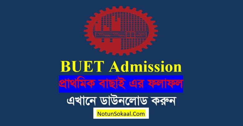 BUET Eligible List