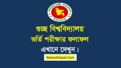 Guccho Admission Result 2021