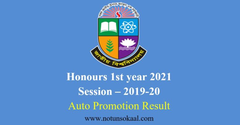 honours 1st year 2021