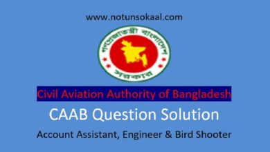 CAAB Question Solution 2021